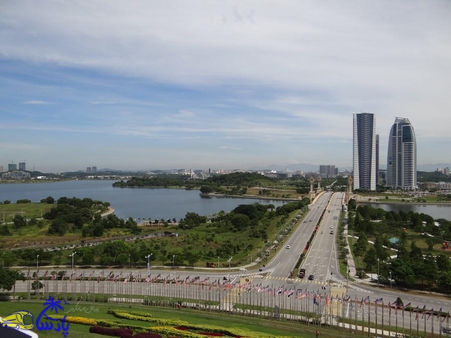 نمای شهر پوتراجایا