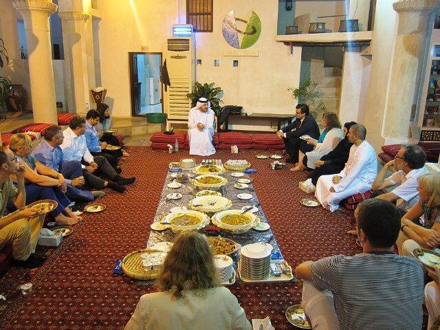 غذاهای فرهنگی دبی