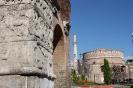 تسالونیکی - طاق گالریوس و ساختمان مدور