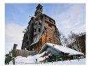 روسیه - خانه چوبی گاگستر